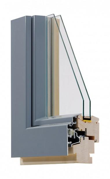 Holz-Alu-Fenster IV 72