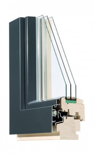 Holz-Alu-Fenster IV 88