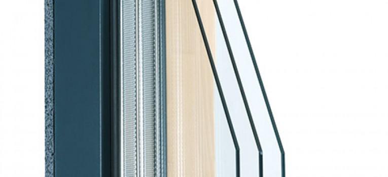 Holz-Alu-Fenster IV 88 integral