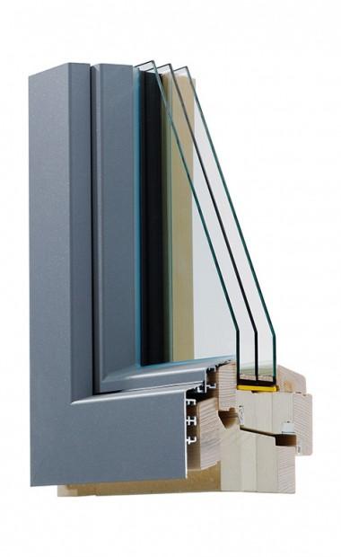 Holz-Alu Passivhaus-Fenster Ökotherm IV 110
