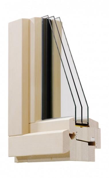 Holz Passivhaus-Fenster Ökotherm IV 110