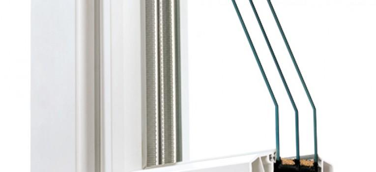 Kunststofffenster 88 3-fach Verglasung