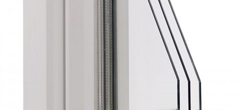 Kunststofffenster 88+ 3-fach Verglasung
